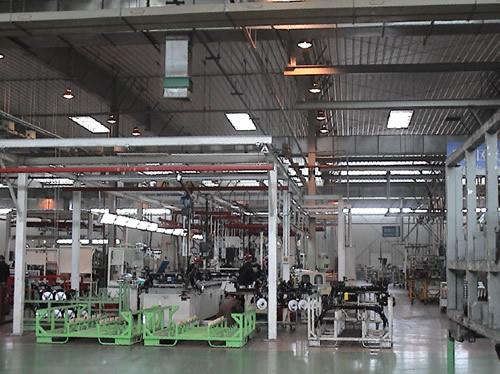 汽凯尔海斯汽车底盘有限公司整体搬迁生产线安装调试