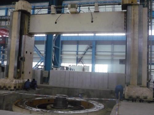 沈阳北方重工集团有限公司八米立式车床拆除搬运安装w88网页登录